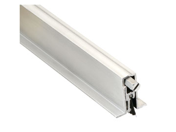 Pemko Aluminum, Satin Automatic Door Bottom Product Number: 411ARL32
