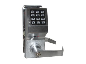 Alarm Lock Chrome, Satin Electronic Lockset Product Number: DL3000WP/26D
