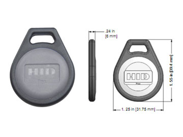 HID  Proximity Fob Product Number: 1346