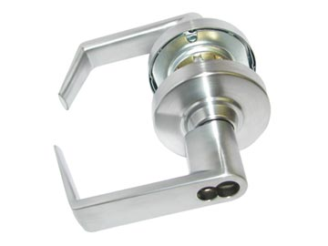 Schlage Chrome, Satin Classroom Lock Product Number: ND70JD RHO 626