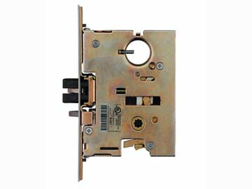 Von Duprin Stainless Steel, Satin Mortise Case Product Number: 7500 US32D