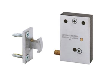 Ives Chrome, Satin Touch Latch Product Number: CL11 US26D