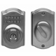 Schlage Brass, Antique Electronic Lockset Product Number: BE365 CAM 609