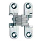SOSS Invisible Hinges Brass, Satin (Coated) Door Hinge Product Number: 101US4