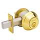 Schlage Brass, Polished Deadbolt Lock Product Number: B660P 605