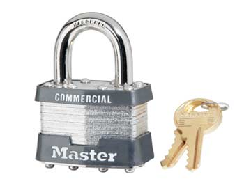 Master Lock  Keyed Padlock Product Number: 1KA 2704