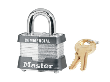 Master Lock  Keyed Padlock Product Number: 3KA 3203