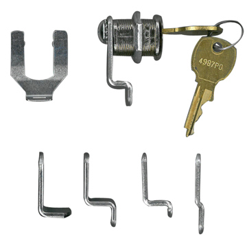 National Lock Nickel, Polished Mailbox Lock Product Number: C8730-14A KD