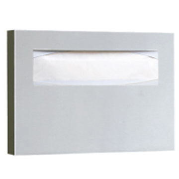 Bobrick Stainless Steel, Satin Toilet Seat Cover Dispenser Product Number: B-221