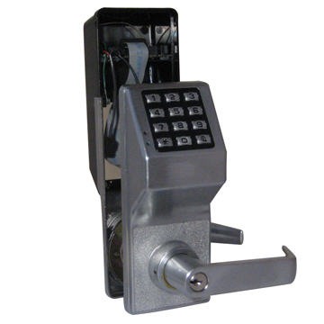 Alarm Lock Chrome, Satin Electronic Lockset Product Number: DL6100/26D