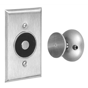 ABH Aluminum, Satin Magnetic Door Holder Product Number: 2400 US28