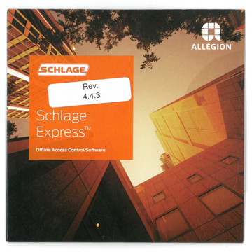 Schlage  Software Product Number: SXPR-SFT-1