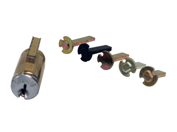 Schlage Brass, Satin (Coated) Cylinder Product Number: 40-700CP 606 LKB