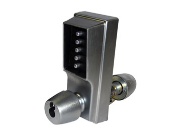 Simplex Chrome, Satin Office/Entrance Lock Product Number: 1021S-26D