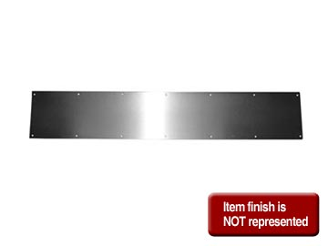 TRIMCO Bronze, Oil Rubbed Kick Plate Product Number: K0050 10X34 10B