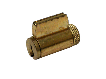 Schlage Brass, Satin (Coated) Cylinder Product Number: 23-065E KD 606