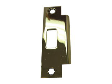Schlage Brass, Polished Strike Product Number: 10-087 605