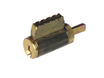 Schlage Brass, Satin (Coated) Cylinder Product Number: 23-013C 606