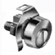 National Lock Nickel, Polished Mailbox Lock Product Number: C8735